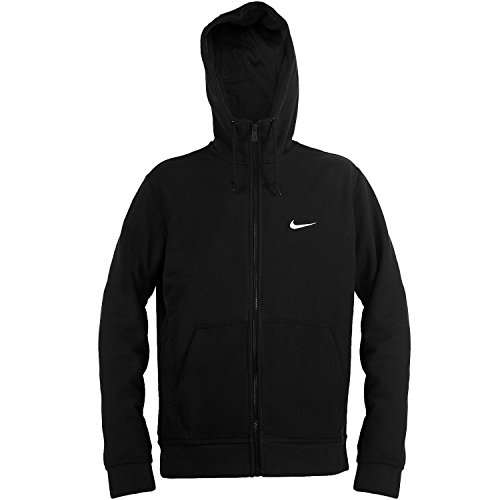 Preisvergleich Produktbild Nike Mens Club Swoosh Full-Zip Hoodie,  Black,  Medium