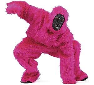 Limit Sport - Disfraz de peluche gorila para adultos, color rosa, talla XL (MA067S)