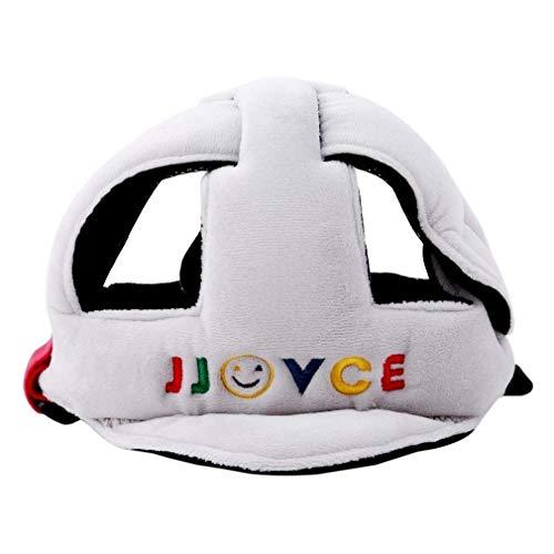 joizo Kleinkind Kopfschutz Baby-Schutzhelm Kind Geschirre Cap Schutzkopfschutz Kind Einstellbarer Druckkopfschutz (weiß)