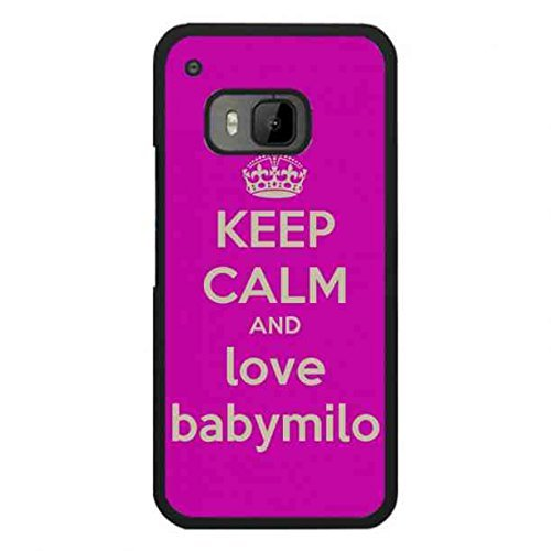 baby-milo-theme-keep-calm-and-love-phone-coque-for-htc-one-m9hard-plastic-phone-cover