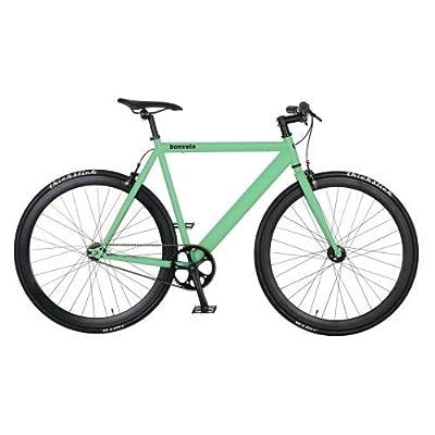 bonvelo Singlespeed Fahrrad Blizz Velvet Green (Small / 50cm für Körpergrößen von 151cm bis 161cm)