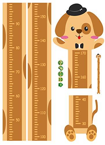 wassaw Animal Height Sticker Series Kinderzimmer Kindergartenplatz Dekorativer Wandaufkleber 45 * 60cm Einfache wasserdichte PVC-sportlandschaft Plant SK6096
