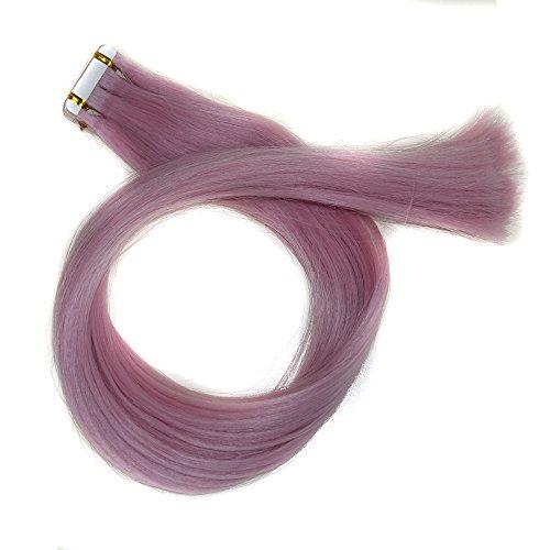 Bluestercool Mädchen Temperaturänderung für Frauen bunte glatte Haare Haarteile
