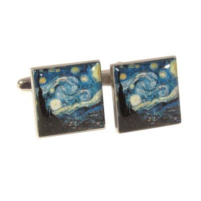 art-masters-gogh-starry-night-cufflinks