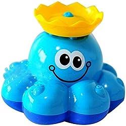 Juguete de Baño Bañera ducha Pulpo Aspersor de Giratorio Gran Regalo para los Bebés Niños y Niñas