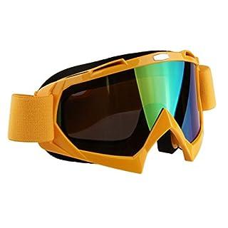 Possbay Einstellbar Motorrad Brillen Wandern Klettern Radfahren Anti UV Bunt Brillenglaeser