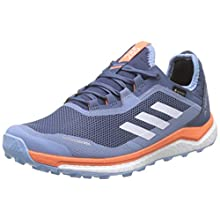 adidas Damen Terrex Agravic Flow Gtx W Cross-Trainer, Blau (Tech Ink/Glow Blue/Hi/Res Coral Tech Ink/Glow Blue/Hi/Res Coral), 40 EU