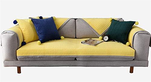 Liveinu Fleece Plüsch Warm Matte mit Anti-Rutsch Mehrfachnutzung Sofaüberwurf Sesselschutz...