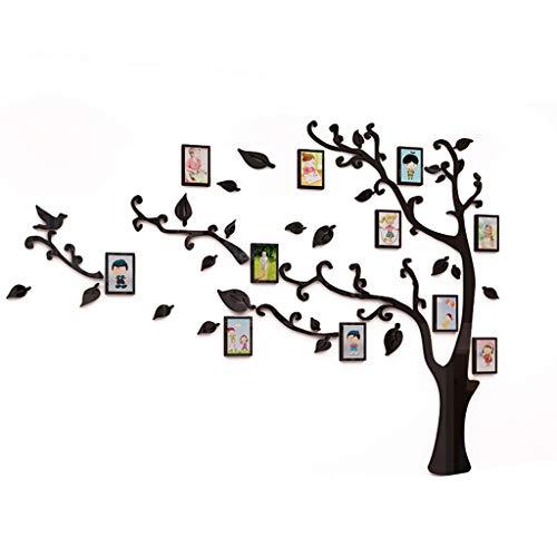 Photo Wall Tea Light Großer Stammbaum Wandtattoo Acryl 3D Baum Wandaufkleber Großer Wandtattoo anzuwenden DIY Dekor Aufkleber Home Art Decor, anzuwenden