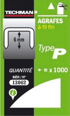 agrafes p/6mm pour 10614v sc