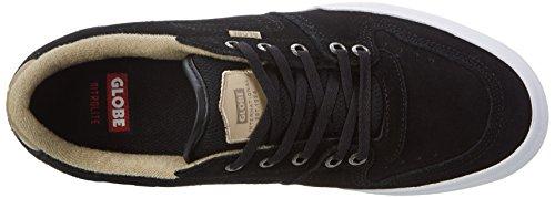 Globe Herren Mojo Legacy Sneaker Schwarz (Black/Tan)