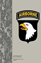 101st Airborne Division Blank Lined Notebook