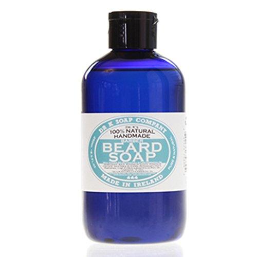 DR K - Champú líquido para el cuidado de la barba, 250 ml