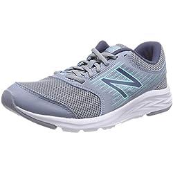 New Balance 411, Zapatillas de Running para Mujer, Azul (Reflection/Light Tidepool/Vintage Indigo Lt1), 39 EU