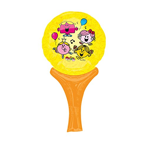 Amscan 15 x 30cm Little Miss Sunshine Inflate-a-Fun Balloons (Little Miss Sunshine Kostüm)