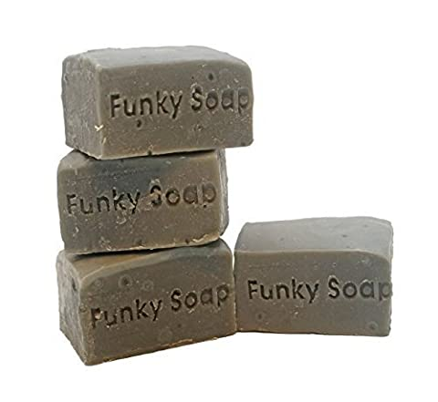 1 piece Blackseed Oil Hair and Body Shampoo Bar, 100% Natural Handmade aprox.120g by Funky Soap