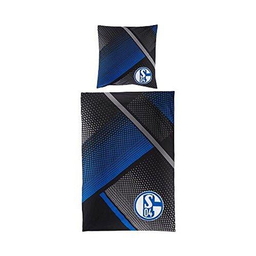 Preisvergleich Produktbild FC Schalke 04 Bettwäsche Grau Blau by FC Schalke 04