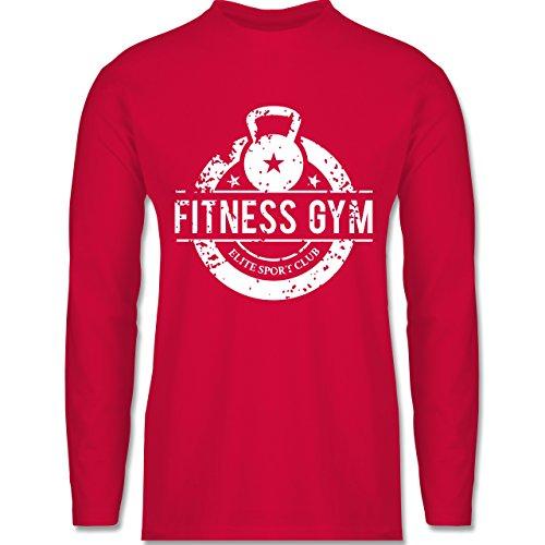 Shirtracer CrossFit & Workout - Fitness Gym Elite Sport Club - Herren Langarmshirt Rot