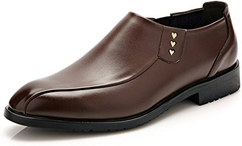 Lederschuhe Männer Loafer Schuhe PU Classic Business Glatt Leder Oberbekleidung Oxfords für Herren