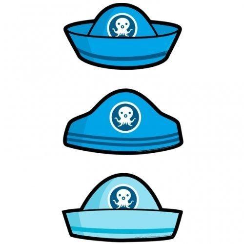 Octonauts Party-Karte Hats x 6 [Spielzeug]