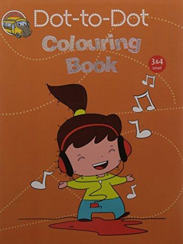Om Books International Dot-To-Dot Colouring Book Level 3&4 [Paperback] [Jan 01, 2015] [Paperback] [Jan 01, 2017] [Jan 01, 2015