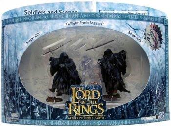 Kostüm Herren Earth Für - Herr der Ringe/Lord Of The Rings- 3-er Pack - Twilight Ambush at Weathertop - Ringwraith / Ringgeist + Twilight Frodo + Ringwraith / Ringgeist - Play Along