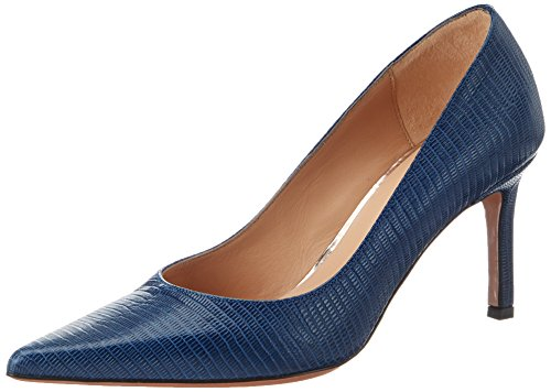 Oxitaly Damen Stefy 100 Pumps, Blau (Denim), 37 EU