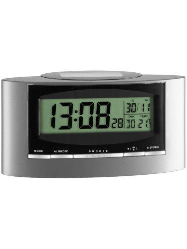 Basic Clocks 743608 Solar Funk-Wecker