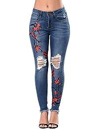 cf0d7c1a89 Amazon.it: Pantaloni Donna Vita Bassa - Bottoni / Jeans / Donna ...