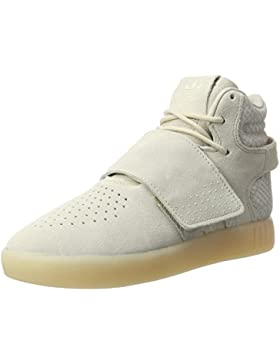 adidas Unisex-Kinder Tubular Invader Strap Hohe Sneaker
