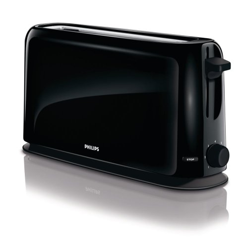 Philips Daily Collection HD2598/90 1slice(s) 1150W Negro - Tostador (1 slice(s), Negro,...