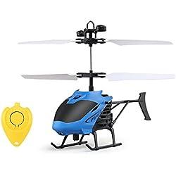 Smalody Mini helicóptero RC Radio Control Remoto de inducción de la Mano Flying Aircraft Micro helicópteros eléctricos Juguetes Regalo para niños