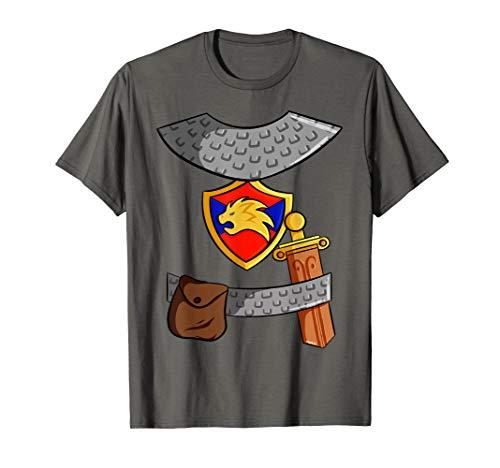 Ritter Kostüm T-Shirt Kinder Mittelalter Fasching Halloween