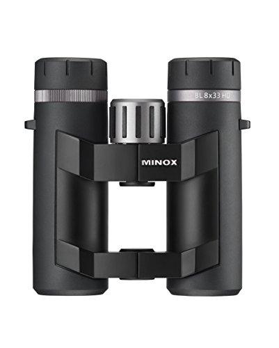 MINOX BL HD 8x33 Fernglas mit Komfortbrücke – Outdoor-Fernglas mit Komfortbrücke für...