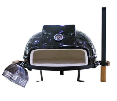 """WG 21Zoll Keramik Grill, Outdoor-Pizza-Ofen, Holzkohle Grill, 21"""" Holz-Herd cermic Pizza-Ofen"""