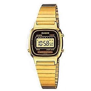 Casio LA-670WG-1 – Reloj Digital de Cuarzo para Mujer con Correa