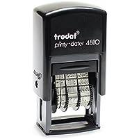 Trodat Printy 4810 Datumstempel, Monat in Buchstaben, 3.8 mm, schwarz