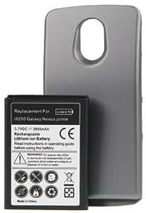AVANTO Power Li-Ion Akku (3600mAh) inkl. Akkufachdeckel für Samsung Galaxy Nexus Prime GT-I9250 schwarz