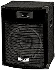 Ahuja 100 Watts Speaker SRX-120DX (Public Address/Music For Approx.200 People), Weather Resistance Speaker Cable (With 2 Meters Speaker Cable)