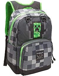 Preisvergleich für Minecraft - Creepy Creeper Single Dark BAGPACK