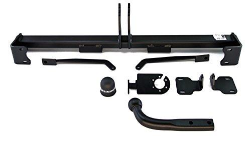Anhängerkupplung starr Steinhof AHK mit universalem E-Satz 13-polig (Ford F-750 Stoßstange)