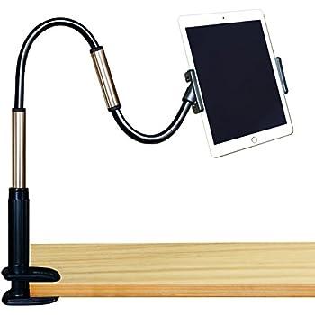 Geepin Support à Pince Support de Tablette pour iPad et iPhone, 1 m de Hauteur réglable Bras