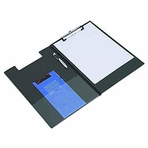 rapesco porte bloc rabat a4 papier ministre noir fournitures de bureau. Black Bedroom Furniture Sets. Home Design Ideas