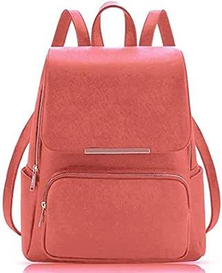 JSPM® Women BackPack With Beautiul Peach Color Casual Backpak (SP-0290 Peach)