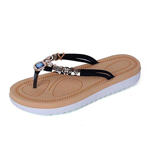 summer-bohemian-beach-flat-wedge-parche-flip-flops-senora-mujer-sandalias-deep-blue-39