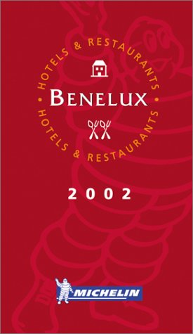 Michelin Red Guide 2002 Benelux