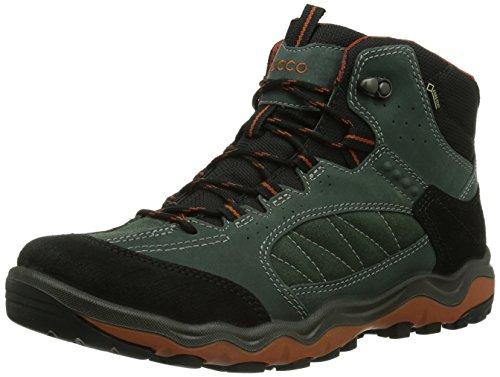 Ecco - Stivali da trekking ed escursionismo 8231_Herren Uomo, Blu (Blau (BLACK/GREEN GABLES/PICANTE 58727)), 47