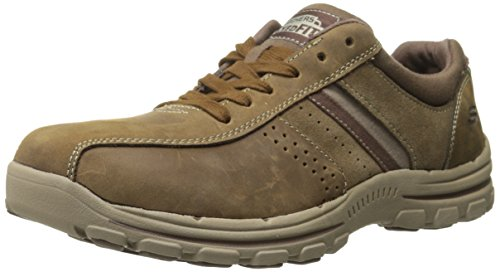 Skechers Men Braver-Alfano Boat Shoes, Brown (Dsch), 9 UK 43 EU