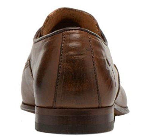 Chaussures classic model Casanova cuir par HGilliane Design Eu 33 au 46 brown
