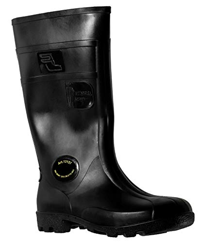 Fagum Stomil Mens Wellingtons - Slip and Oil Resistant Boots - PVC Work Boots
